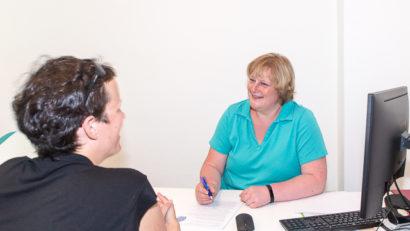 Beratung in unserer Frauenarztpraxis in Lichtenberg